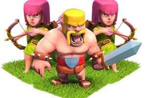 Barbarian and Archers