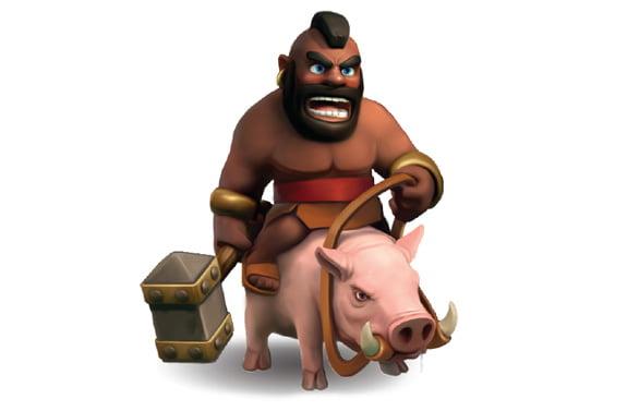 clashofclanstips-hog-rider